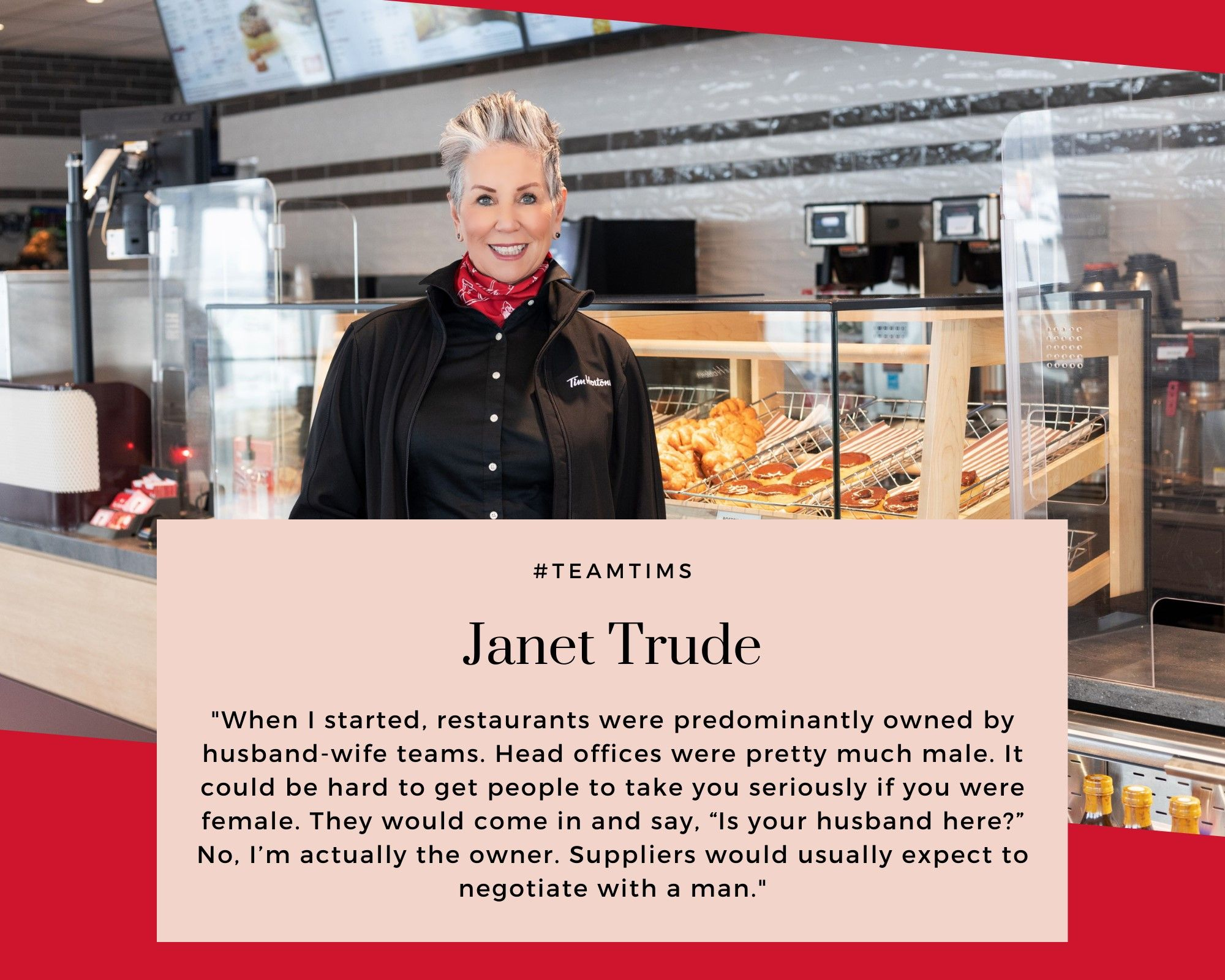 Photo of Restaurant Owner Janet Trude